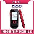 Русский клавиатура поддержка Nokia 5130 разблокирована каче лента мобильный телефон с много multi-языки отремонтированный