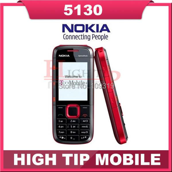 Soporte de teclado ruso Nokia 5130 abierto original venda qual teléfono móvil con multi-idiomas envío gratis reacondicionado