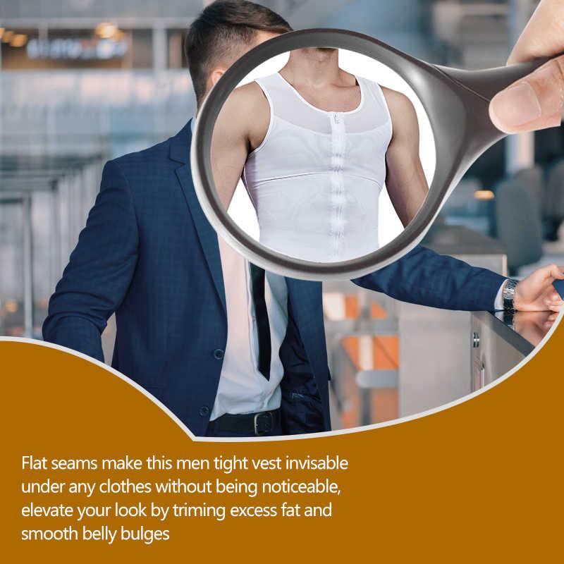 VASLANDA Göbek Zayıflama Kemeri Yağ Yakma Shapewear Erkek Ter Yelek Bel Kuşak Korse Şekillendirme Iç Çamaşırı Sauna Tankı Üstleri Şekillendirici