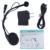 Simple pero multifuncional! L1 BT motocicleta del intercomunicador del casco auricular estéreo Bluetooth para auriculares trabajo con L2 L3