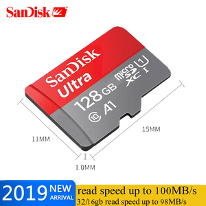 Image 2 - SanDisk Speicher Karte A1 400gb 256GB 200GB 128GB 64GB U3 100 MB/S Micro sd karte Class10 UHS 3 flash karte Memory Microsd TF/SD Karten