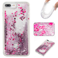 For IPhone 4s 5 5S SE 6 6S Plus 7 7 Plus Love Heart Stars Glitter