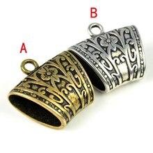 5 шт./лот, античное серебро и Античная бронзовая цветная трубка для изготовления ювелирных изделий DIY шарф горка БАРС для ювелирных изделий DIY SLIDS, P672