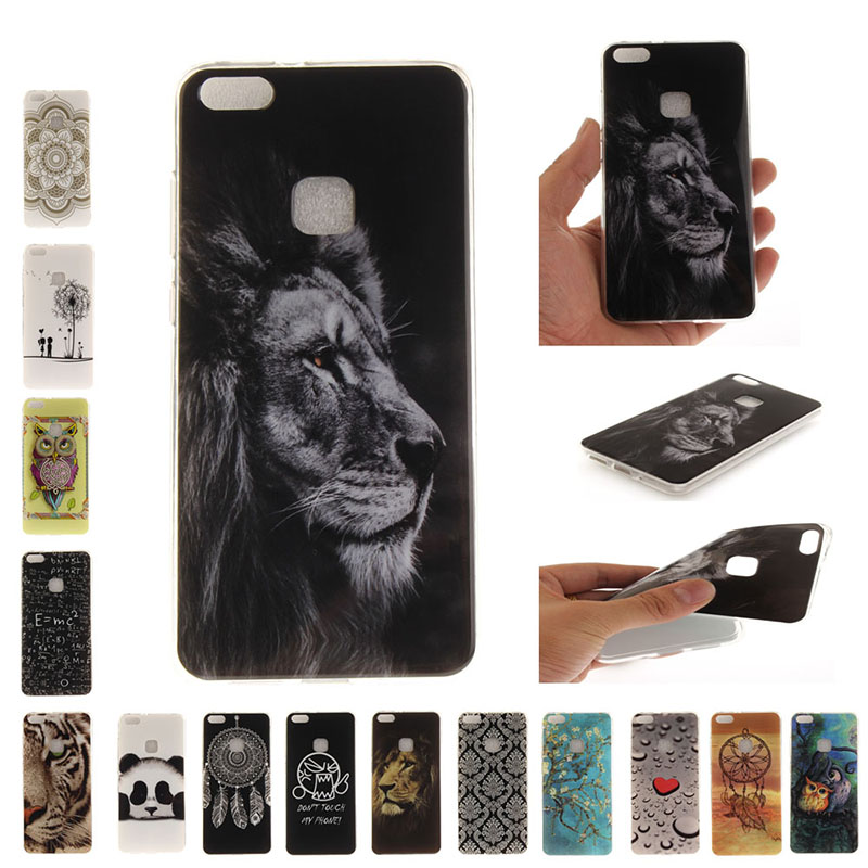 huawei p10 lite coque silicone animaux