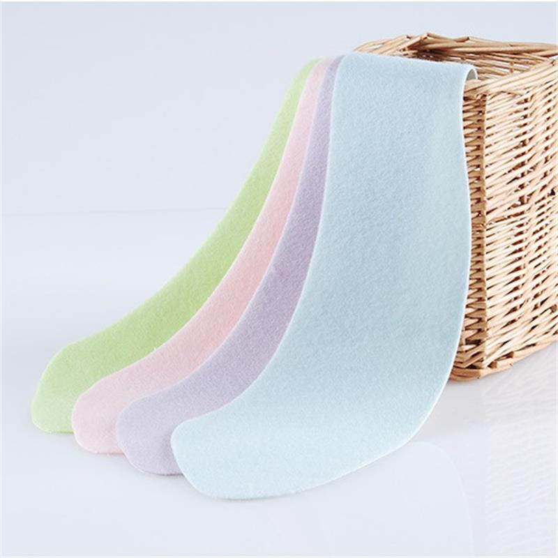 Image 4 - A pair Plain Color Paste Toilet Stickers Flannel Thickening Washable Bathroom Closestool Seat Cushion Cover Warm Home Decoration-in Toilet Seat Covers from Home & Garden