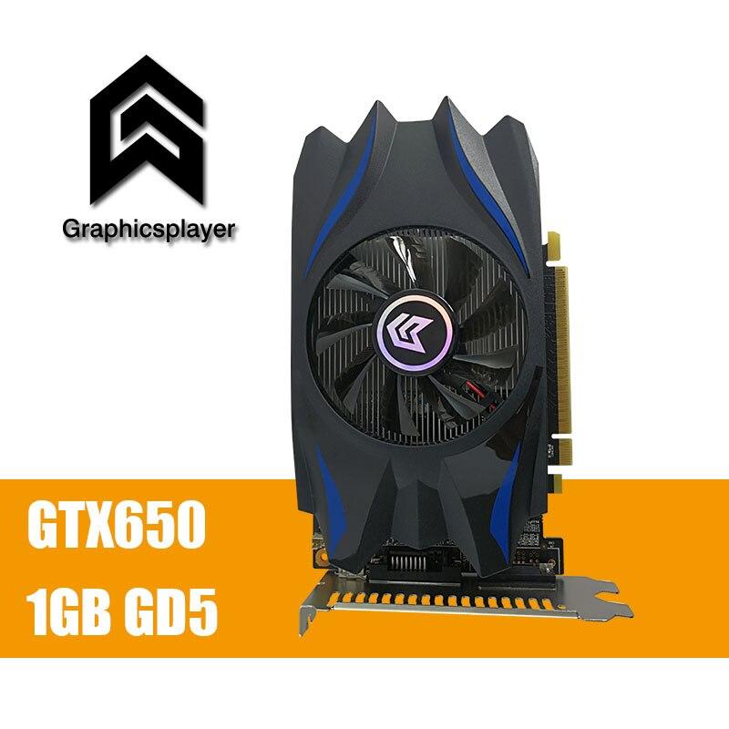 Carte graphique GTX650 1 GB/1024 MB GDDR5 128Bit pci Express Placa de Vidéo carte graphique Carte Vidéo pour Nvidia GTX