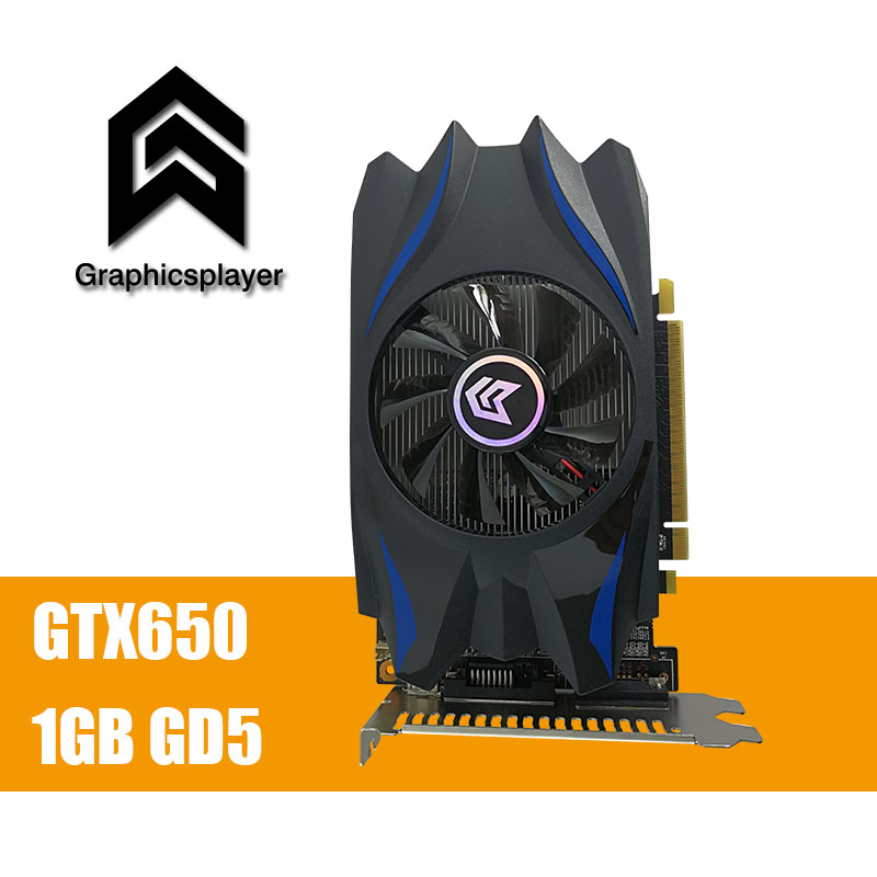 Tarjeta gráfica GTX650 1 GB/1024 MB GDDR5 128Bit PCI Express Placa de video tarjeta para NVIDIA GTX