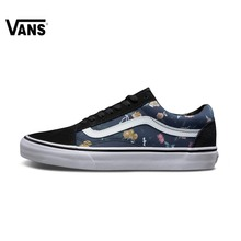 Original Vans Unisex Men's and Women's Old Skool Skateboarding Shoes Sports Shoes Canvas Shoes  Sneakers   free shipping