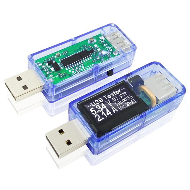 7 in 1 USB tester DC Digital voltmeter amperimetro current voltage meter amp volt ammeter detector power bank charger indicator