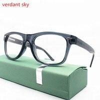 2017 New TR90 Glasses Frame Fashion Retro Eyeglasses Prescription Optical Eye Glasses Frames For Women Men