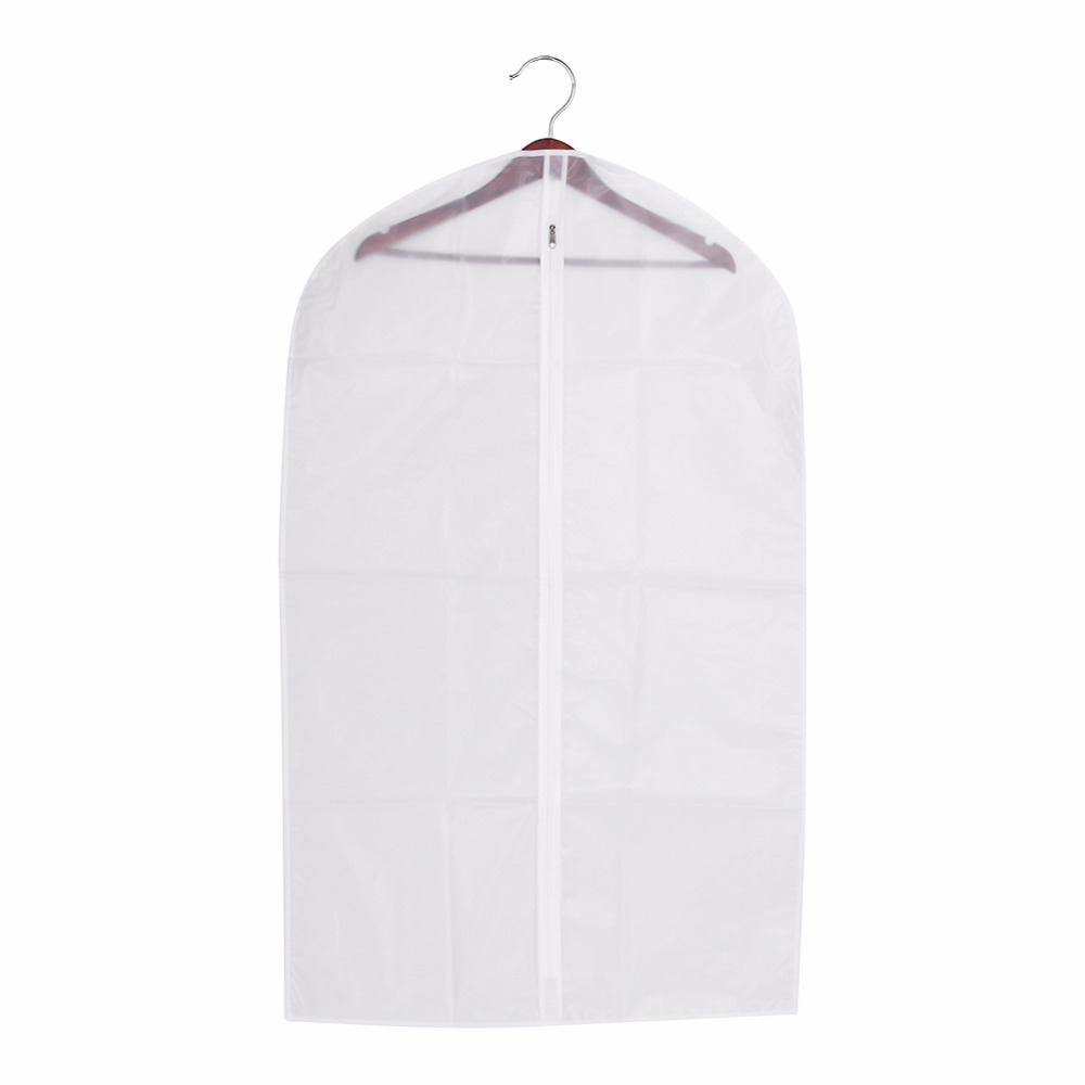 1 x Suit Cover Protector Storage Bag Case for Clothes Garment Suit Coat Dust Suit Cover Protector Clothes Organizador garment bag
