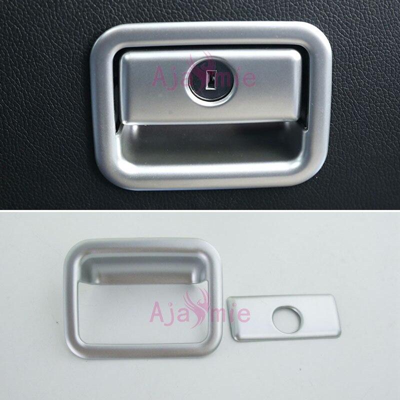 Accessories For Toyota Land Cruiser 150 Prado LC150 FJ150 2010-2017 Interior Glove Box Cover Trim Chrome Car Styling