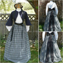 Victorian Corset Gothic/Civil War Southern Belle Ball Gown Dress Halloween dresses US 4-16 R-357