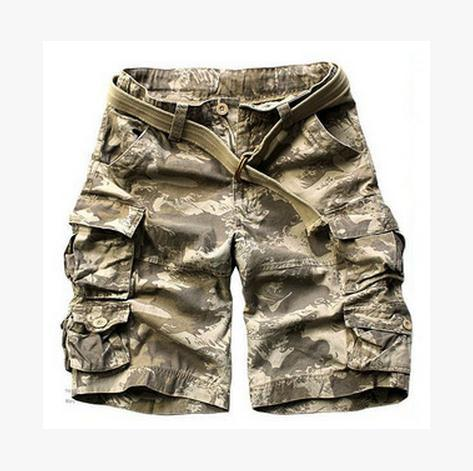 Men Tooling Shorts Multi-Pocket Casual Beach Shorts Multi-Color Large Size Male Swimwears Board Shorts Cargo Summer Bermuda J785