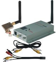 De largo alcance 1.2 G / 1.3 G 1000 mw 8 canales receptor transmisor de video inalámbrico kit para FPV micro UAV helicópteros RC