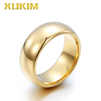 TSR213 Xukim Jewelry stainless steel ring lovers ring gold wedding ring man ring new hot women ring Tungsten men ring