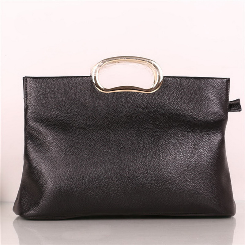 2018 Hot Sale New Arrival Women Women's Handbags Lychee Style Genuine Cow Leather Handbag Large Capacity Soft Big Brand Bag
