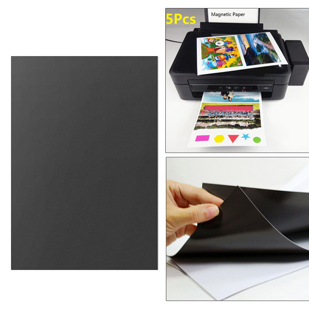 Cobee 5Pcs Wall Decoration Picture Inkjet Printer Record Album Photo Printing Paper A4 Photo Paper Magnetic