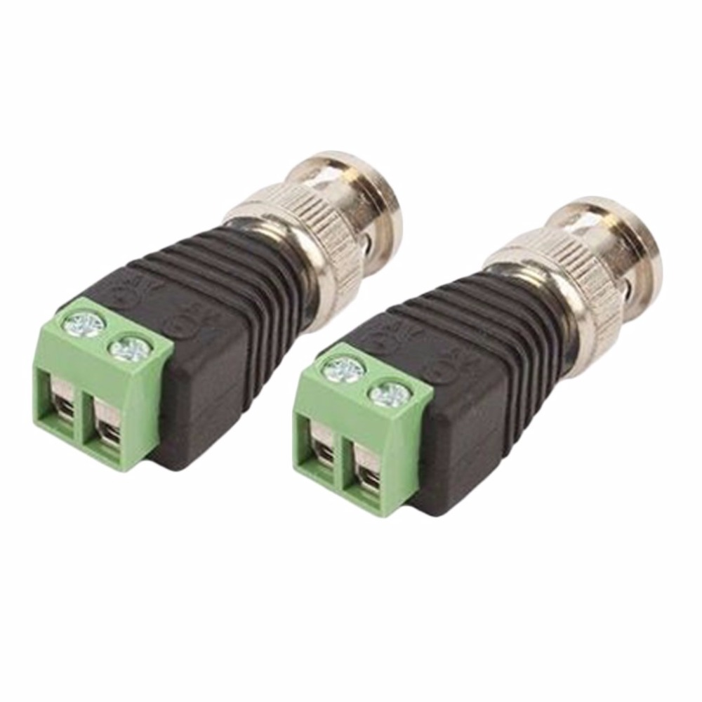 20Pcs lot Mini Coax CAT5 To Camera CCTV BNC UTP Video Balun Connector Adapter BNC Plug For CCTV System Accessories Only 100 left 20pcs lot me15n10 me15n10 g to 252