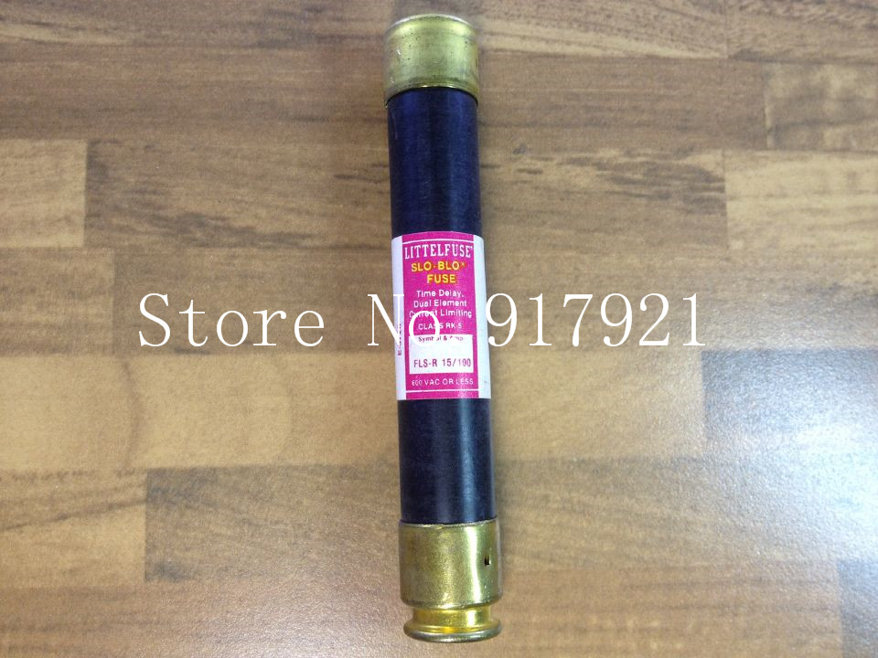 [ZOB] The United States Netlon LITTELFUSE FLS-R 15/100 FUSE original fuse tube --2pcs/lot