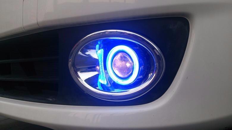 eOsuns Նորարար COB հրեշտակ աչքի առաջատար - Ավտոմեքենայի լույսեր - Լուսանկար 3