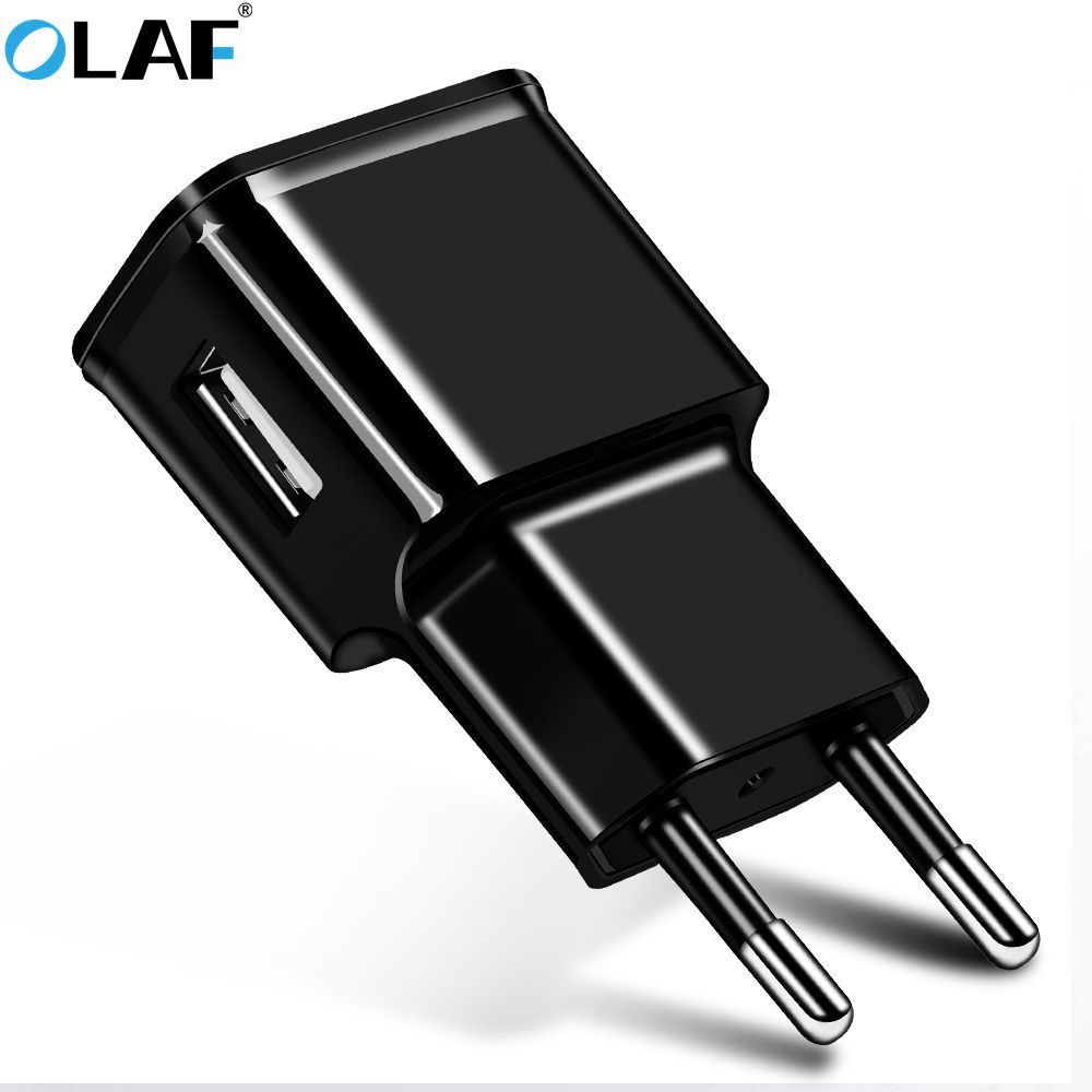 Olaf 5V1A 5V2A USB Charger Travel Wall Charger Adapter Portable Smart Mobile Phone Charger EU Plug For Samsung S6 S7 S8 Note8