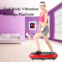 message Vibration Plate Machine Whole Body Vibration Platform Plate Fitness Machine Workout Trainer Tens Power Fitness Equipment