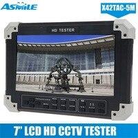X42TA 5M 7Display 5in1 HD TVI+AHD+HDMI+VGA+CVBS Camera Video Monitor Tester