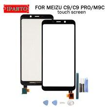 5,45 zoll Für Meizu C9/C9 PRO Touchscreen Glas 100% Garantieren Original Digitizer Glas Panel Touch Ersatz Für m9C