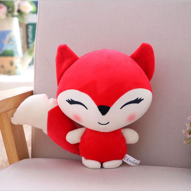 new 23cm Kawaii Dolls Stuffed Animals & Plush Toys for Girls Children Boys Toys Plush Pillow Fox Stuffed Animals Soft Toy Doll
