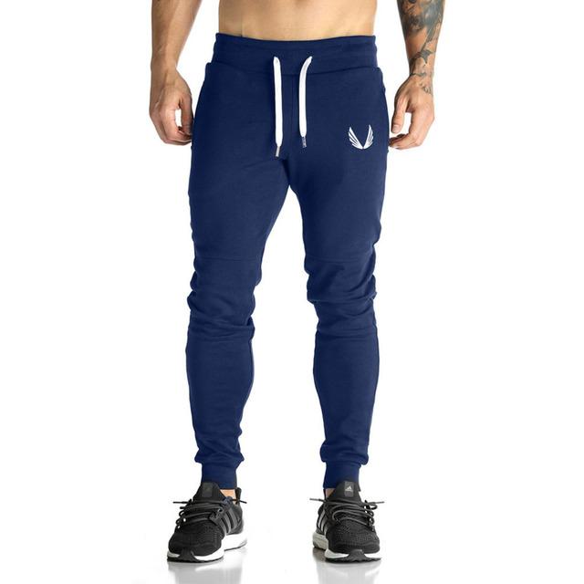 Otoño de Los Hombres pantalones de chándal Ropa de los hombres Largos Ocasionales visten pantalones de Algodón Más El Tamaño de la Cintura Elástica Primavera hip hop desgaste