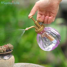 2Pcs Watering Flowers Kettle Plant Spray Bottle Small Curved Mouth Pressing Household Sprayer Planting Tool Gardening Tool цена