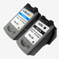 Compatible Ink Cartridge PG 30 CL 31 FOR PIXMA IP1800 IP2600 MP140 MP210 MP470 MX300