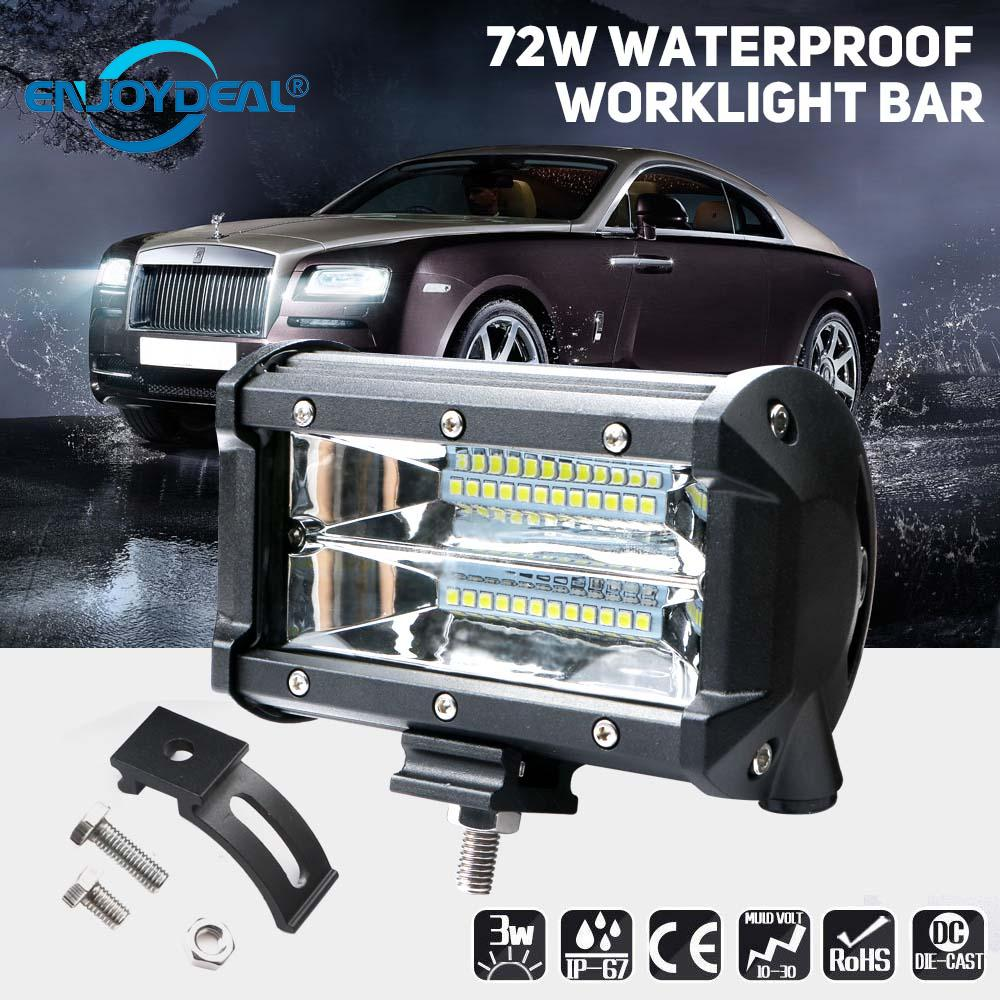 7 Color Underwater Pool Light DRL for Off Road Vehicle LED Waterproof Lamp 2PCS