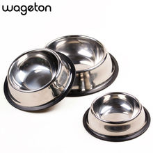 Free Shipping Fashion Stainless Steel Anti skid Pet Dog Cat Puppy Food