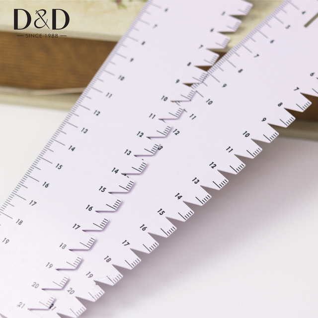 1pc Ultrathin Soft 21cm Sewing Patchwork Ruler Quilting Tools ... : quilting tools and accessories - Adamdwight.com