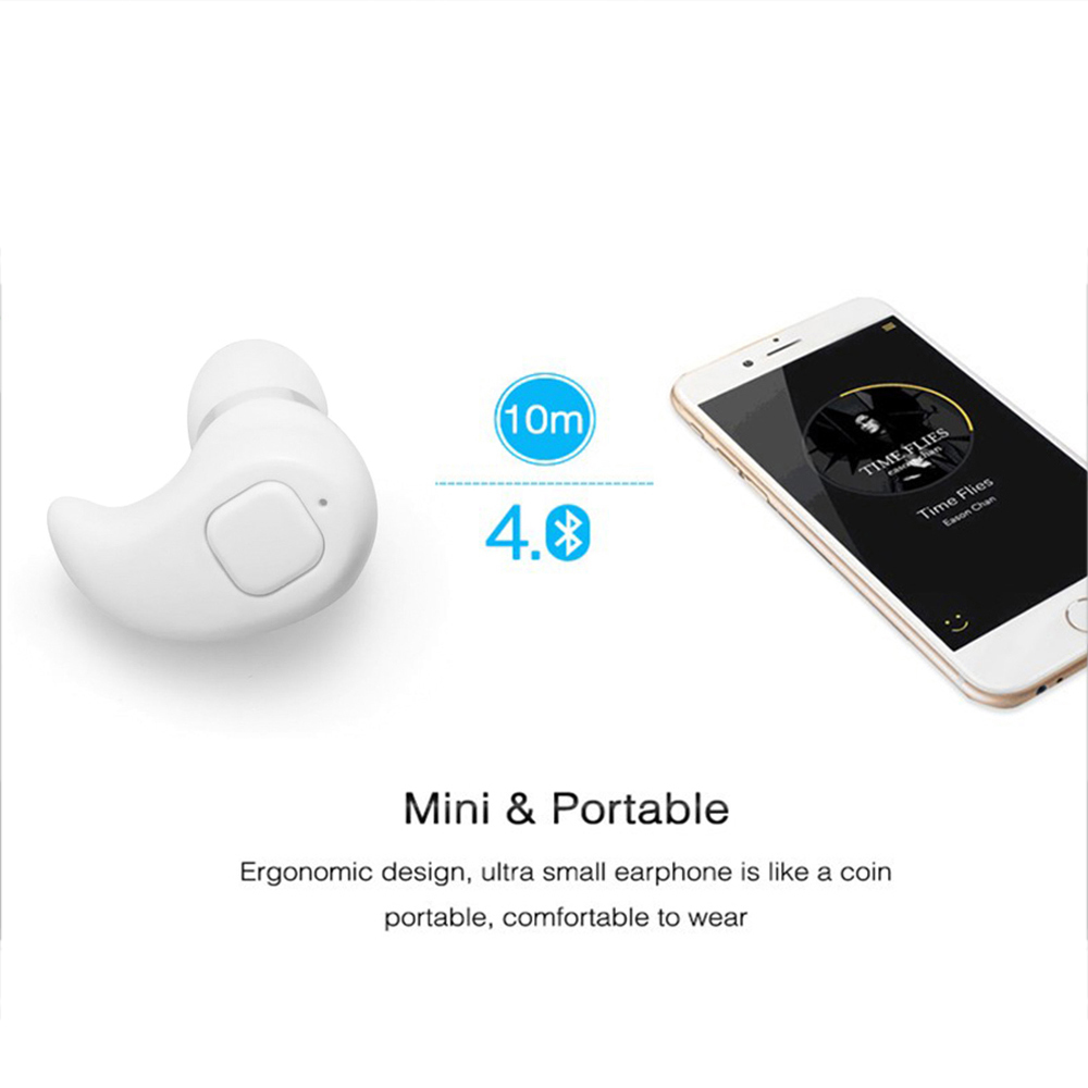Купить S530 Plus Mini Wireless In-Ear Earpiece Bluetooth Earphone Cordless Headset Bluetooth Stereo In Ear Earbuds Portable For Xiaomi
