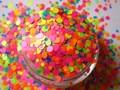 Resistente a los disolventes Glitter Mix fila brillo de uñas de acrílico polaco, scrapbooking, suministros polacos G322