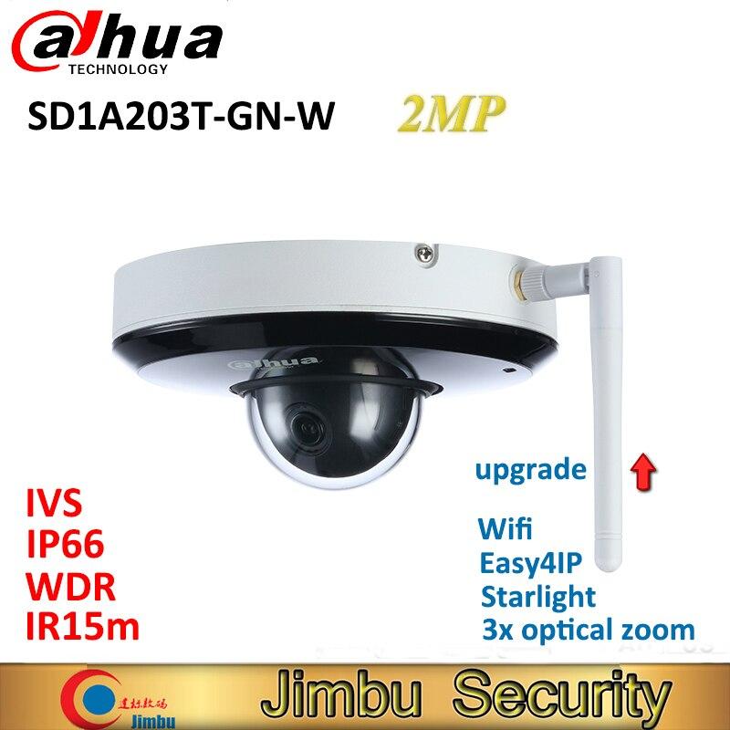 大華 wifi カメラポケモンセキュリティカメラ камера видеонаблюденияPTZ IP 2MP wifi カメラ SD1A203T GN W スターライトサポート Tripwire  グループ上の セキュリティ & プロテクション からの 監視カメラ の中 1