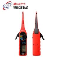 MS8211 Multimeter Circuit Tester Automotive Digital Multimeter, Pencil, Detector DMM AC DC Voltage Current Tester Pen with LED