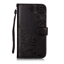 Embossed Wallet Case For Asus Zenfone 5Z / 5 ZE620KL PU Leather Flip Phone Cover ZS620KL Back