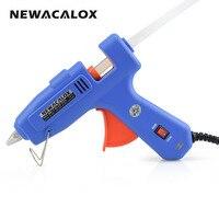 60W 100W EU Plug Hot Melt Glue Gun With Free 1pc 11mm Stick Heat Temperature Tool