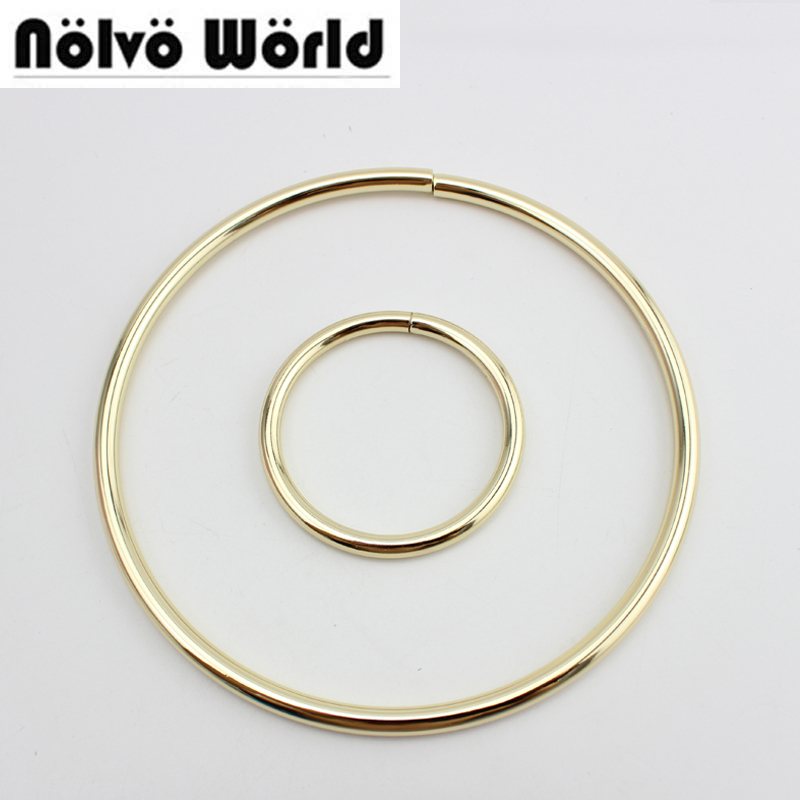 20pcs 60mm 100mm 137mm Non Welded Metalic O Rings Big O Ring for bags handle Pants Connect,handmade alloy metal o ring metal o rings o ring purse ring connector anti bronze 12 mm 1 2 inch 40pcs u123