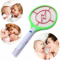 Hot Rechargeable Electric Mosquito Swatter Killer Racket Bug Insect Pest Fly Mosquito Swatter Racket Zapper Insect
