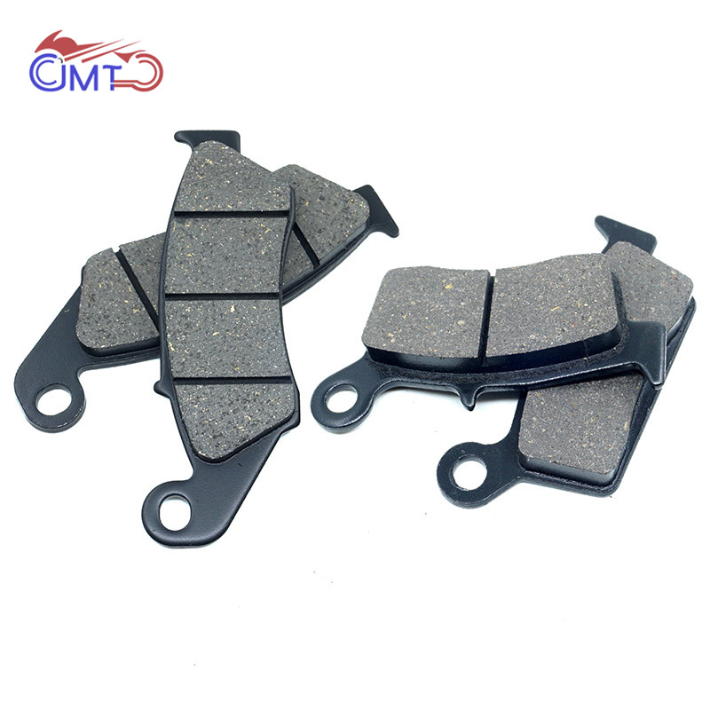 For Kawasaki <font><b>KX125</b></font> KX250 2001-2008 KLX250 D-Tracker 1998-2007 KLX250S 2006-2007 Front & Rear Brake Pads Set Kit image