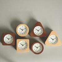 Creative Wooden kids Alarm Clock Digital Led Table Talking Wood Night Electronic Desk Clock Kids Wake Up Light Clock 40N0092