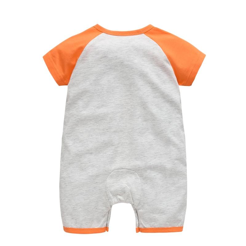 Niedźwiedź bawełniany Śpioszki dla niemowląt wokół szyi - Odzież dla niemowląt - Zdjęcie 2