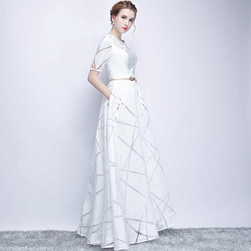 9eb9ffa557 ... UIZVTIK Summer Dress For Women 2019 Elegant Formal Ball Gown Long Party  Dress Female Casual Plus ...