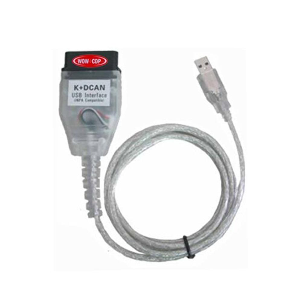 Для bm-w INPA K + d CAN коннектора obd2 scan кабель FT232RL чип