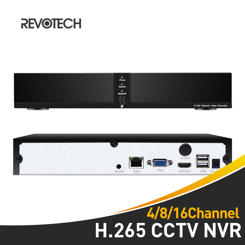 H 265 4 8 Channel HD NVR 4 8 CH CCTV 5MP Network Video Recorder HDMI